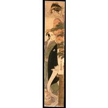 Eiri: Okaru, Yuranosuke, and Kudayu in Act VII of the play Chushingura - Legion of Honor