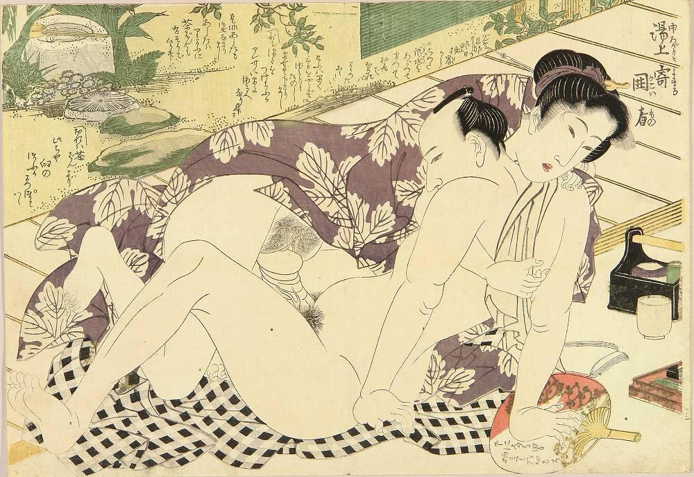 Японский эротичная миниатюра