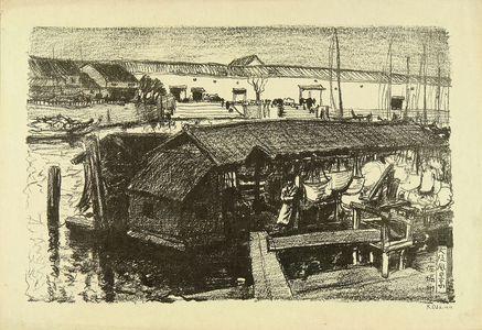 織田一磨: Tosabori River, from - 原書房