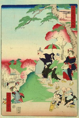 一景: Higurashi no sato (Nippori), from - 原書房