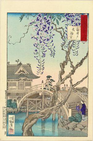 小林清親: Kameido Shrine, from - 原書房