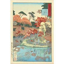Kobayashi Kiyochika: Takinogawa, Oji, from - Hara Shobō