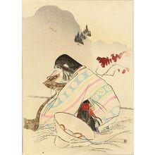 MISHIMA SHOSO: A frontispiece of a novel, 1909 - 原書房