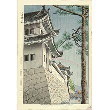 藤島武二: Nijojo kosame (Drizzling rain in Nijo Castle, kyoto, 1953 - 原書房