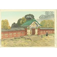 織田一磨: The mausoleum at Shiba, published by Watanabe, 1930 - 原書房