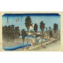 Utagawa Hiroshige: Numazu, from - Hara Shobō