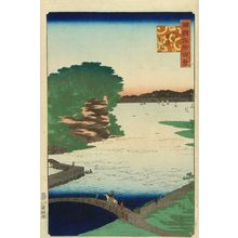 Utagawa Hiroshige II: Noge, Yokohama in Musashi Province, from - Hara Shobō