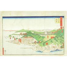 Utagawa Sadahide: Takada, Sashi County, Echigo Province, from Dai - Hara Shobō