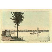 Inoue Yasuji: View of Fujimi Ferry, first state, 1881 - Hara Shobō