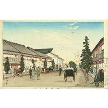 井上安治: Shintomicho, 1884 - 原書房