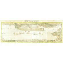 Utagawa Sadahide: Map of Yokohama, 1853 - Hara Shobō