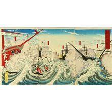 UNSIGNED: A scene of Sino-Japan war, from - Hara Shobō