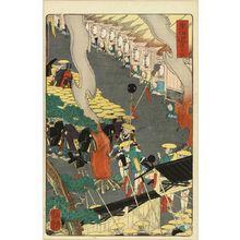 Utagawa Yoshitsuya: Hodogaya, from - Hara Shobō
