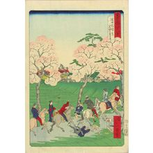 Ikkei: MOkuboji Tample and Sumida Embankment, from - Hara Shobō