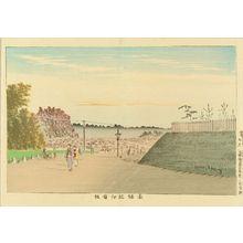 小林清親: Kinokuni Hill, Akasaka, from - 原書房