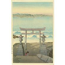 Kawase Hasui: Futomi, Awa Province, 1925 - Hara Shobō