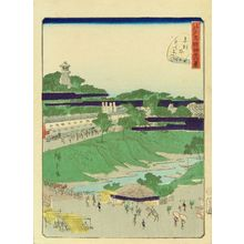 Utagawa Hiroshige II: Suitengu, Akabane, from - Hara Shobō