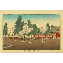 井上安治: Hiei Shrine, from - 原書房