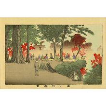 井上安治: Autumn leaves at Takinogawa, from - 原書房