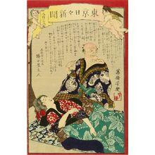 落合芳幾: Tokyo daily newspaper, No. 838, 1874 - 原書房