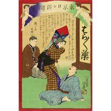 落合芳幾: Tokyo daily newspaper, No. 1015, 1875 - 原書房