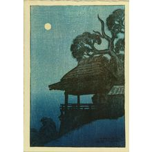 Ito Shinsui: Ishiyama Temple, from - Hara Shobō