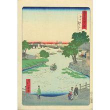 Ikkei: Kurahashi Bridge, Nakano, from - Hara Shobō