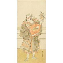 勝川春童: A full-length portrait of the actor Otani Hiroji III in the role of a puppeteer - 原書房