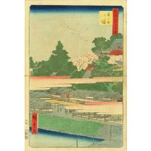 歌川広重: Hachiman Shrine, Ichigaya, from - 原書房
