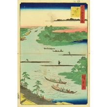 歌川広重: Mouth of Naka River, from - 原書房