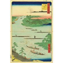Utagawa Hiroshige: Mouth of Naka River, from - Hara Shobō