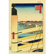 歌川広重: Nihonbashi Bridge and Edobashi Bridge, from - 原書房