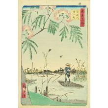 Utagawa Hiroshige: Kanegafuchi, Ayase River, from - Hara Shobō