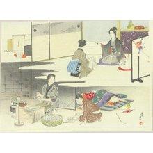水野年方: A frontispiece of a novel - 原書房