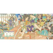 Utagawa Sadahide: A scene of the - Hara Shobō