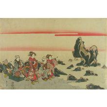 Kikugawa Eizan: View of Futamigaura - Hara Shobō