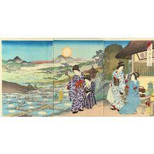 豊原周延: ��������η�, 1891 - 原書房