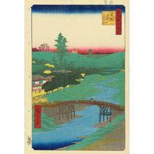 Utagawa Hiroshige: Furu River, Hiroo, from - Hara Shobō