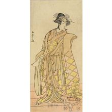 Katsukawa Shunsho: A full-length portrait of the actor Segawa Kikunojo, c.1782 - Hara Shobō