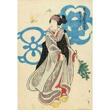 UNSIGNED: A memorial portrait of the actor Bando Shuka, 1855 - Hara Shobō