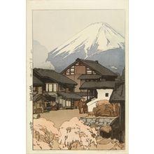 Yoshida Hiroshi: Funatsu, from - Hara Shobō