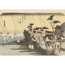 Utagawa Hiroshige: Oiso, from - Hara Shobō