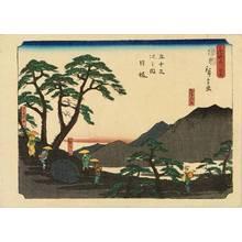 Utagawa Hiroshige: Nissaka, from - Hara Shobō