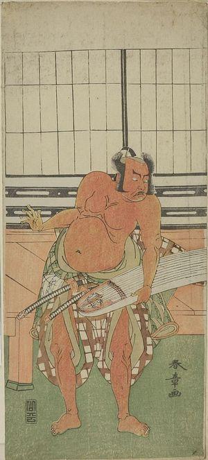 Katsukawa Shunsho: Actors Ichikawa Yaozô and Nakajima MIZO, Edo period, late 18th century - Harvard Art Museum