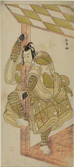 Katsukawa Shunsho: Actor Ichimura Uzaemon 8th - Harvard Art Museum