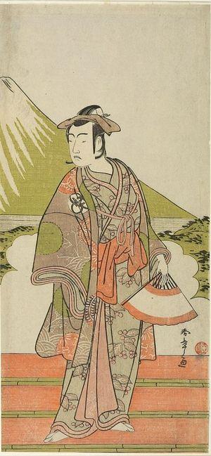Katsukawa Shunsho: Actor BANDO MITSUGORO 2ND - Harvard Art Museum