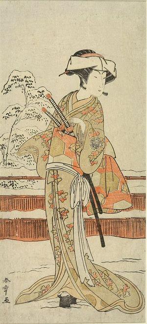 Katsukawa Shunsho: Actor Nakamura MatsueMON - Harvard Art Museum