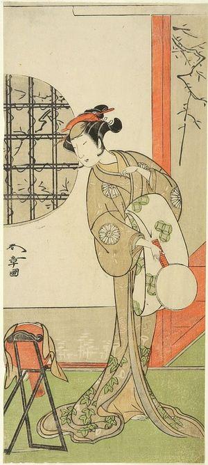 Katsukawa Shunsho: Actor Nakamura Noshio 1st, Edo period, circa 1773 - Harvard Art Museum