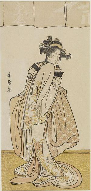 Katsukawa Shunjô: Actor Segawa Kikujirô AS A YOUNG GIRL, Edo period, - ハーバード大学