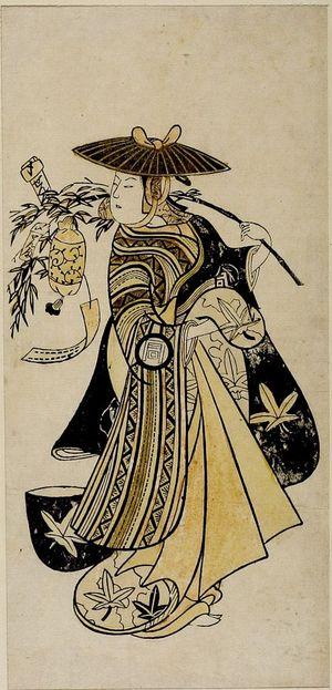 Nishimura Shigenaga: Actor SANOGAWA ICHIMATSU 1ST AS, Mid Edo period, 1742 - Harvard Art Museum